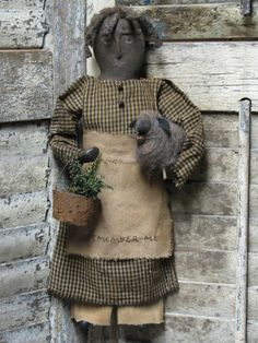 Primitive Folk Artist Sue Corlett