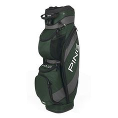 Ping Traverse Cart Bag (Dark Green/Charcoal, 14-way Top) Golf NEW by Ping. Save 12 Off!. $149.99. Weighing under 5.5 pounds, the Traverse combines the size of a carry bag with the easy handling of a stand bag, aided by integrated handles on the top and spine. The 14-way, mesh-covered top has individual dividers, plus an injection-molded putter tube with soft-touch coating. The Traverse is equipped with nine pockets, including a large zippered, insulated cooler pocket on the front of the…