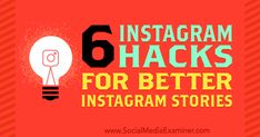 6 Instagram Hacks for Better Instagram Stories by Jenn Herman on Social Media Examiner. Internet Marketing Company, Viral Marketing, Social Marketing, Digital Marketing, Marketing Tools, Instagram Tips, Instagram Story, Free Printable Flash Cards, Memory Games For Kids