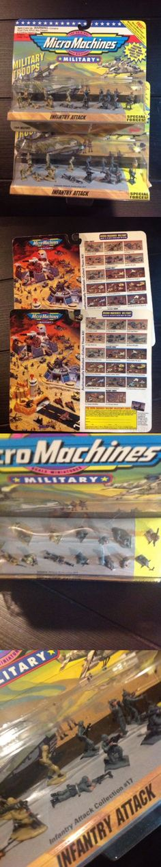Tanks and Military Vehicles 171138: Micro Machines Military, Military Troops, Infantry Attack, Lot Of (2), 1993, New -> BUY IT NOW ONLY: $55 on eBay!