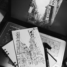 City sketchhhh