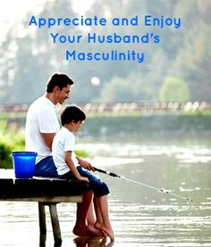 Appreciate and enjoy your husband's masculinity - my guest post at Messy Marriage.  www.calmhealthysexy.com