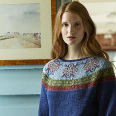 Wren Fairisle Yoke. Marie Wallin. I like the colour combination