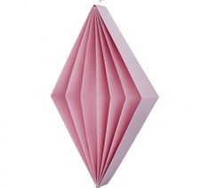 Harlequin dice - Rose - Large #paper #pink #origami #papercraft