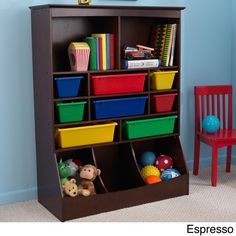 Store your kids books, sports equipment, and toys for easy storage and a clean toy room.