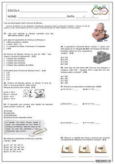 SOS PROFESSOR-ATIVIDADES: Expressões numéricas