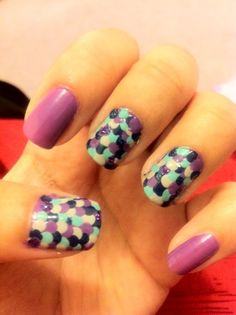 scale nails. Cool!