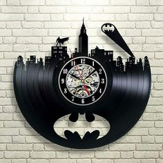 When the night comes and darkness fulfills everything you see, let Batman become your guardian and sleep soundly. Your favorite hero is carved of vinyl record is looking forward to meeting you. Check out more here: www.vinylevolution.com.ua Ebay: stores.ebay.com/vinyl-evolution @vinyl_evolution - plenty of amazing vinyl record gifts.
