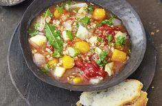 Dinkel-Gemüse-Suppe - Schrot und Korn - Das Kundenmagazin für den Naturkosthandel