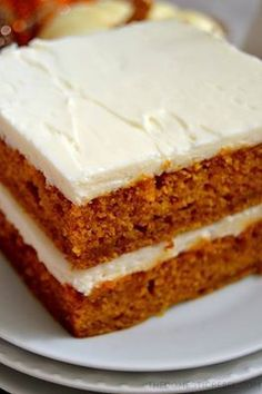 ? ?PUMPKIN SPICE SHEET CAKE ? ? Everyone who tries this Pumpkin Sheet Cake LOVES it. It's moist, fluffy and totally pumpkin-y with a luscious cream cheese frosting! Great for potlucks! RECIPE…