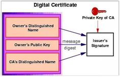 "A Digital Certificate is an electronic ""password"" that allows a person, organization to exchange data securely over the Internet using the public key infrastructure (PKI). Digital Certificate, Public, Names, Messages, Texting, Text Posts, Text Conversations"