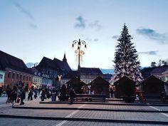 #Sunset in #Transylvania. #Brasov #Kronstadt #Transilvania #Siebenbürgen #Christmas