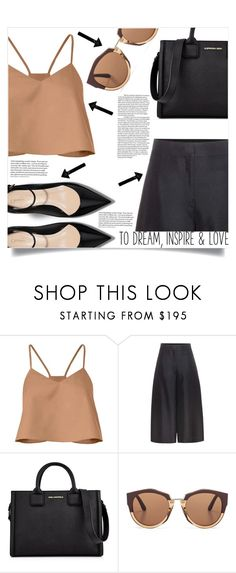 """Suprise Yourself"" by aanchal-w ❤ liked on Polyvore featuring TIBI, Valentino, Karl Lagerfeld, Marni and polyvoreeditorial"
