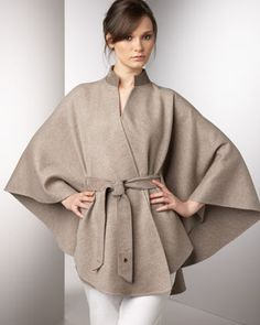 Sloane Cape by Loro Piana at Bergdorf Goodman.
