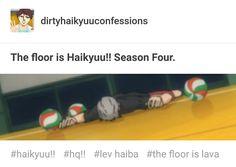true story X'D #haikyuu!!