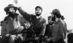 Fidel Castro y barbudos
