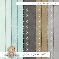 You've Got A Mail | Solids and Dots :: France M. Designs :: Shop by Designer :: Memory Scraps