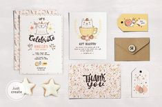 SAVE 40% • Cat Birthday Party by YetiCrab on @creativemarket