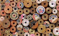 When I see bobbins like these it reminds me of my Grandmother.  She was a tailor by trade and a teacher by nature