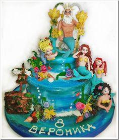 King Triton Cake made by Daniela