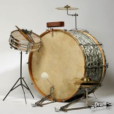Vintage 1920's Sonor kit from drummuseum.hu