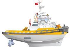 Eskort 70 x 80 #Tugboats