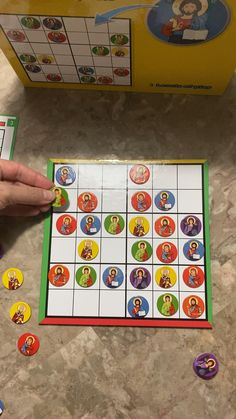 Kids Sudoku with Orthodox Icon Images Childrens Board Games, Puzzle Board Games, Board Game Box, Board Games For Kids, Programming Games For Kids, Programming Patterns, Sudoku Puzzles, Logic Puzzles, Best Family Board Games