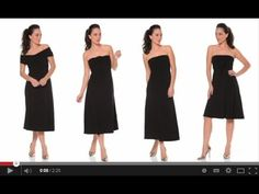 The Ultimate Black Dress by SACHA DRAKE