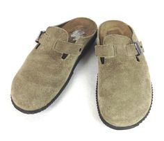 Mephisto Shoes Womens Beige Suede Comfort Loafers 5 35 #Mephisto #LoafersMoccasins