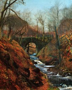 Victorian British Painting: John Atkinson Grimshaw, ctd