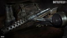 ArtStation - Battlefield 1 Weapons, Peter Olofsson Hermanrud