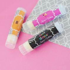 Birthday Personalized Lip Balm Tubes