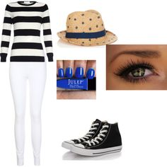 Outfit 3 by pockylover1 on Polyvore featuring Miss Selfridge, Converse and Jigsaw