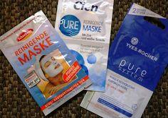 German Beauty Blog / Германский бьюти-блог: Обзор очищающих масок для лица: Cien, Yves Rocher