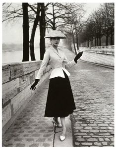 Photographer Willy Maywald. Christian Dior. Paris, 1947.