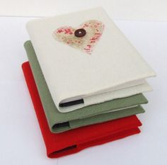 Boiled Wool Covered Notebook