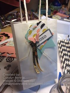 idea for decoration bag ♥