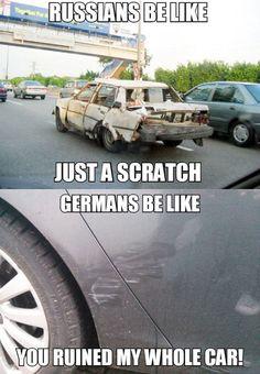 Russians Vs. Germans