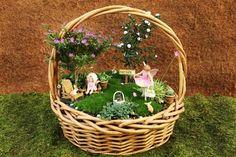 Wicker Basket Garden