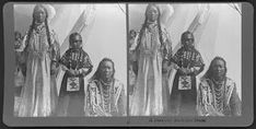 Photo gallery of the Flathead Indians clothing and exquisite beadwork