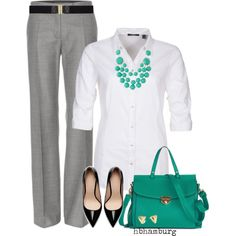 """""""No. 276 - Turquoise"""" by hbhamburg on Polyvore"""