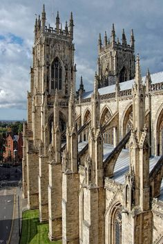 York Minster is a cathedral in York England and is one of the largest of its kind in Northern Europe. The minster is the seat of the Archbishop of York the second-highest office of the Church of England and is the cathedral for the Diocese of York.