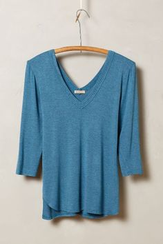 Essential V-Neck - anthropologie.com