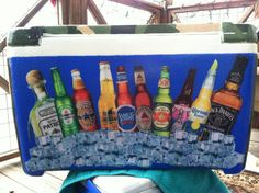 alcohol Fraternity Crafts, Coolers, Dads, Alcohol, Heineken, Rubbing Alcohol, Fathers, Liquor