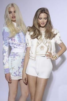 """supermodelgif: """" Versace / Spring 2012 """""""