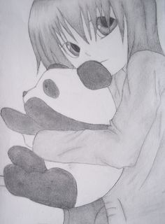 Anime Drawing- wish i could draw like this(: