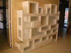Les meubles en carton de Maud