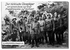 Turkish soldiers at Gallipoli