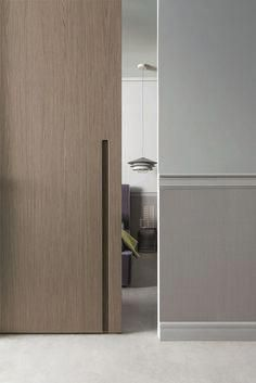 Custom wood doors, whether elegant or rustic, are a durable choice that can really set off the style of your home. With the latest custom exterior door design technology, . Cool Doors, The Doors, Windows And Doors, Entry Doors, Front Entry, Patio Doors, Sliding Door Handles, Sliding Barn Door Hardware, Door Knobs