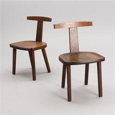 "THREE CHAIRS. ""T-chair"" by Olavi Hanninen"